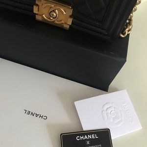 CHANEL Bags - Chanel le boy bag small